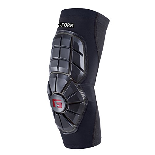 G-Form Youth Baseball Pro Extended Elbow Guard, Black, Youth Small/Medium