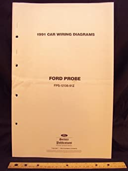 1991 ford probe electrical wiring diagrams schematics ford motor rh amazon com 1989 Ford Probe 1994 Ford Probe
