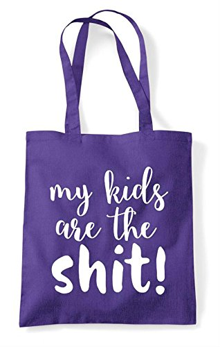 My Parenting Shopper Bag Purple Kids The Tote Are Shit Statement q4Zw4cIBr