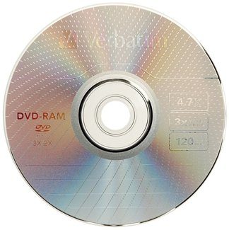 Verbatim : Disc DVD-RAM 4.7GB R/W 3X single sided type 4 Ctdgsided type 4 Ctdg -:- Sold as 2 Packs of - 1 - / - Total of 2 Each