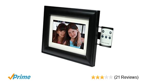 Amazoncom Smartparts Sp70mw 7 Inch Digital Picture Wood Frame