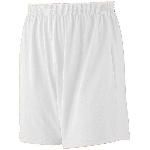 - Augusta Sportswear Augusta Jersey Knit Short, White, Small
