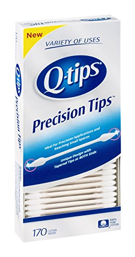 Price comparison product image Q Tips Precision Tips 170 Ct,  Pack of 6