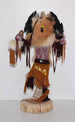 12 INCH Owl Kachina (Kachina Doll Owl)