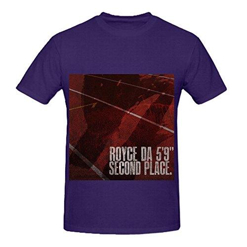 Royce Da 59 Second Place Men Crew Neck Custom Tee - Shenanigans In Second