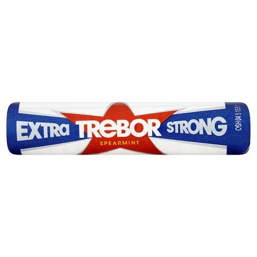 Trebor Extra Strong Spearmint Roll (Pack of 20)