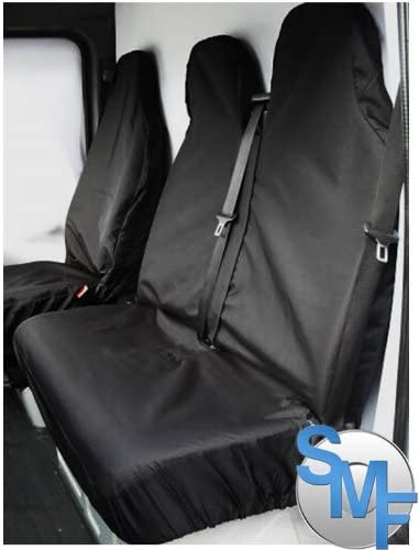 protectors Fiat Ducato 2012 Waterproof heavy duty van seat covers BLACK