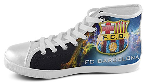 Mann Høy Topp Joggesko For Futbol Club Barcelona Fans Shoes04