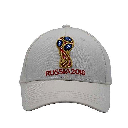 Ventilador Gorra de Gorra Sombrero Ventilador Rusia Gorra de Mundial de Tenis Un de wei Sol Mascota Fútbol Montaña de Copa Tamaño de Regalo de Gorra de 8w70Zq