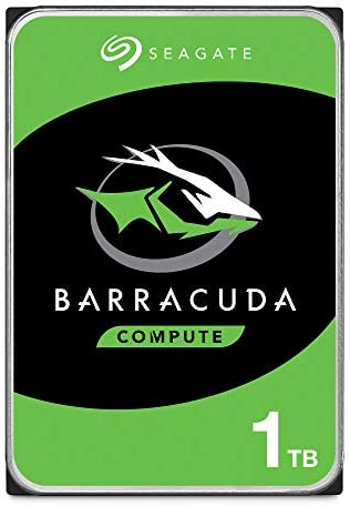 Seagate Bare Drives BarraCuda 1TB Internal Hard Drive HDD – 3.5 Inch SATA 6 Gb/s 7200 RPM 64MB Cache for Computer Desktop PC – Frustration Free Packaging ST1000DMZ10/DM010