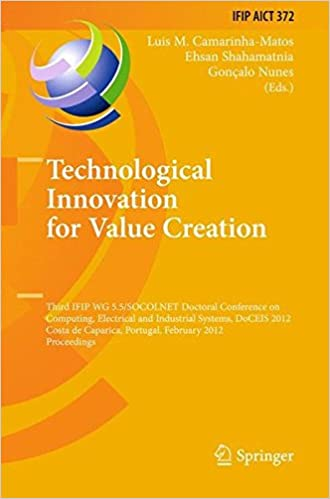 Technological Innovation for Value Creation: Third IFIP WG