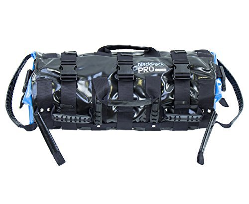 blackPack PRO - Sandbag bis 40 kg, Profi-Gewichtstasche, verstellbarer Sandsack