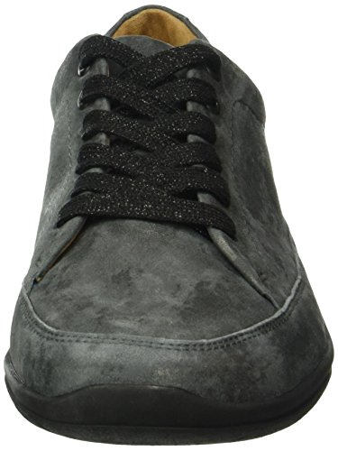 Ganter Cordones Mujer G 6200 para de Zapatos antrazit Gris Derby Gill Grau Weite gXr7q8XT