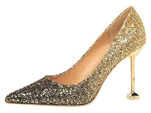 Eu 10 Zeppa Sandali Donna gold Miyooparkuk ds1716 35 Con Oro Miyoopark vCwTqRx