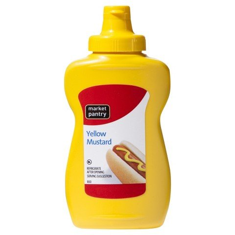 Market Pantry Yellow Mustard 8 oz