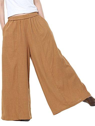 MatchLife - Pantalón - Skort - para mujer Dunkel Gelb