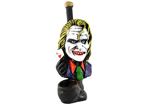 Handmade Tobacco Pipe Superheros (Ledger (Joker Superhero)
