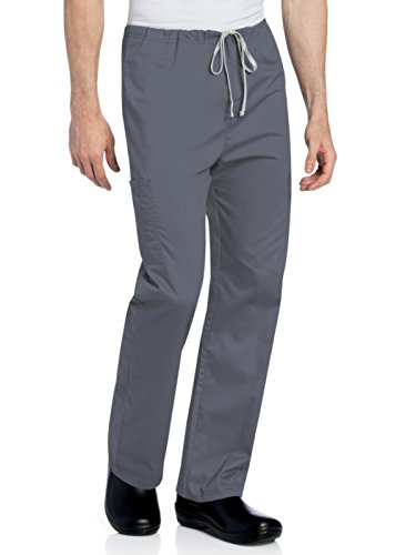 Landau All Day Unisex Cargo Scrub Pant Steel S