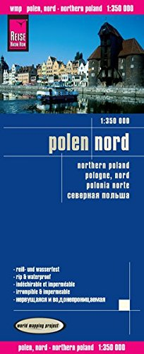 Reise Know-How Landkarte Polen, Nord (1:350.000): world mapping project