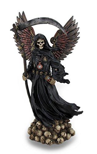 Veronese Steampunk Style Grim Reaper Statue Gear Accents]()