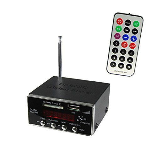 Compact MP3 Player FM Tuner
