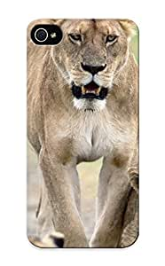 Runandjump Case Cover Protector Specially Made For Iphone 5/5s Nature Animals Lions Baby Animals