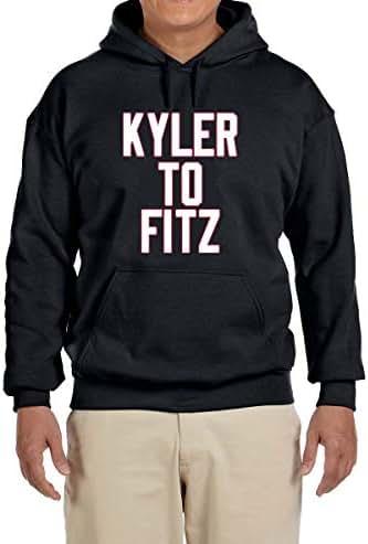 Tobin Clothing Black Arizona Murray to Fitz Hooded Sweatshirt