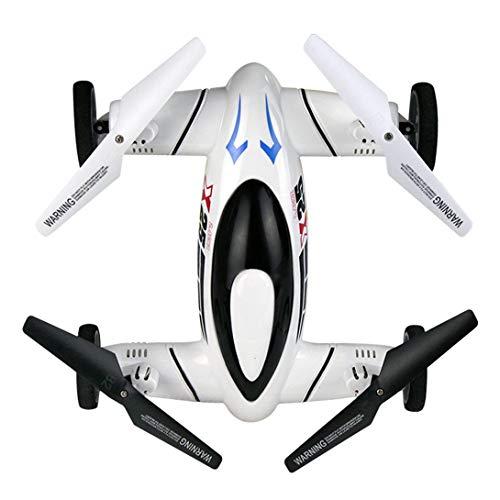Swiftgood X25 720P HDカメラスマートRCフライングカードローンクアドコプター航空機UAV(360°フリップ)高度保留0neキーリターン、