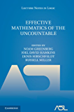 Effective Mathematics of the Uncountable (Lecture Notes in Logic)
