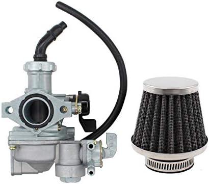 Carb For Honda ATC90 ATC125M ATC110 TRX125 Carburetor /& Air Filter