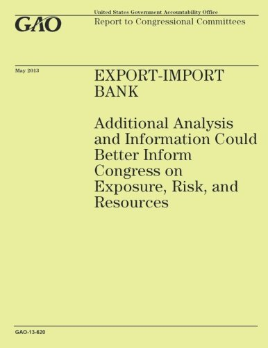 Download Export-Import Bank: Additional Analysis and Information Could Better Inform Congress on Exposure, Risk, and Resources PDF