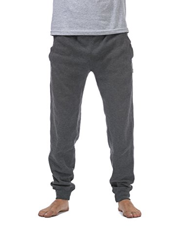 Pro Club Men's Jogger Fleece Long Pants, X-Large, Charcoal