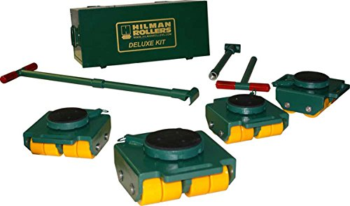 12 Ton Hilman Rollers KBSP-12P Bull Dolly Machinery Skates Kit With Polyurethane Wheels