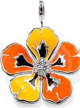 Thomas Sabo Blume Blüte Zirkonia Anhänger Charm