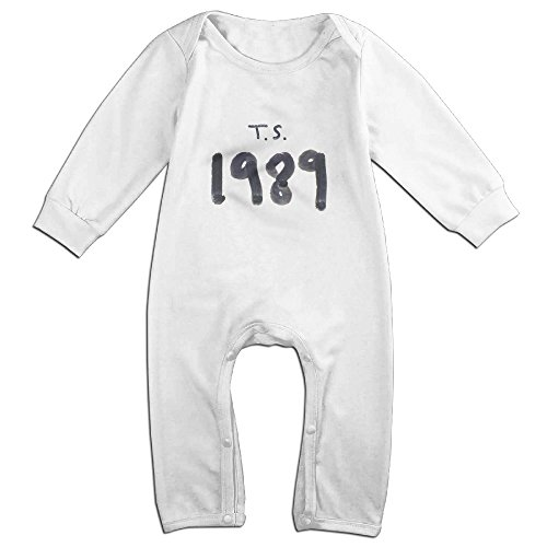 Cute Taylor 1989 Swift Romper For Infant White Size 12 - Blake Lively Style