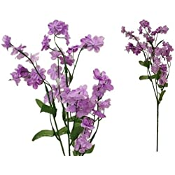 Tableclothsfactory 12 Bushes Baby Breath Artificial Filler Flowers - Lavender