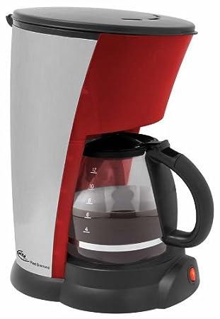Schwarz ELTA Kaffeemaschine 12 Tassen 1,5 L 800 Watt