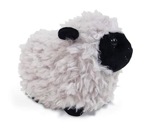 A&T Designs Little Black and Grey Sheep Stuffed Animal Plush Doll]()