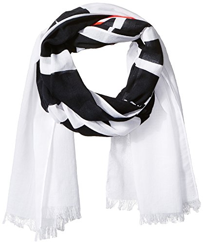 Armani-Exchange-Mens-Large-Logo-Light-Weight-Scarf