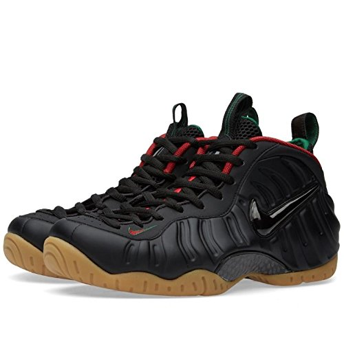Galleon - Nike Men s Air Foamposite Pro Black Green Gold Red 624041-004  (Size  10) f55a639e03