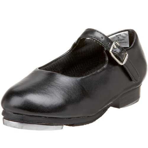 Image of Dance Class T403 Leather Mary Jane Tap (Toddler/Little Kid),Black,8 M US Toddler