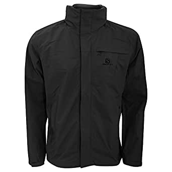 Salomon Mens Elemental AD Hooded Waterproof Jacket (S