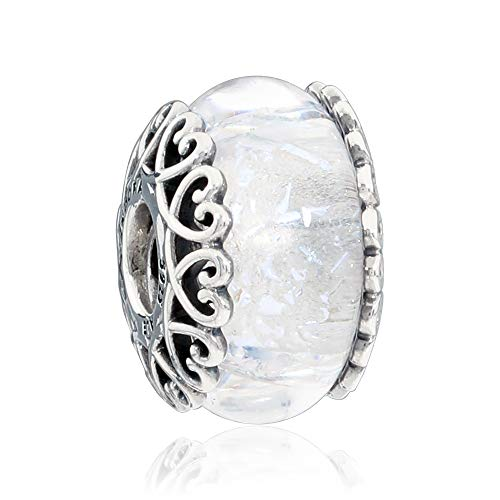 6f60bc9c4c9a0 🥇Best Pandora white murano bead (August 2019) ☆ BEST VALUE ☆ Top ...