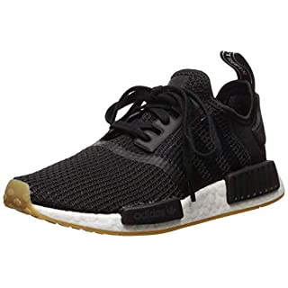 adidas Originals mens Nmd_r1 Shoe, Core Black/Core Black/Gum, 4 US