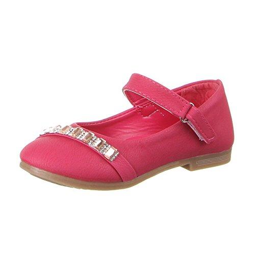 Kinder Schuhe, B-13-1, BALLERINAS Pink (20-25)