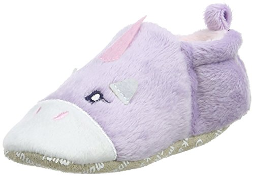Chipmunks Baby Mädchen Rainbow Babyschuhe, Violett Purple (Lavender)