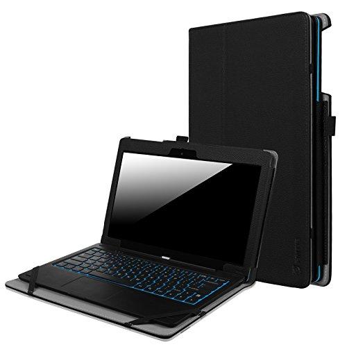 Fintie Nextbook Ares 11A / Nextbook Ares 11 / Nextbook Flexx 11 Tablet Case - Premium Vegan Leather Folio Case Cover for Nextbook Ares 11.6 Inch (Android) / Flexx 11.6 Inch (Windows) Tablet, Black