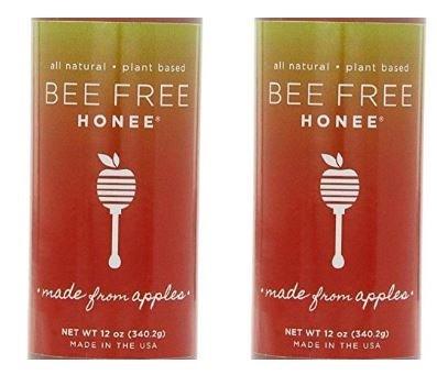 Honee Bee-Free Plant Based Vegan Honey Original 12 Oz (Pack of 2)