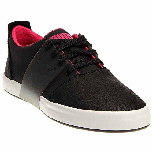 PUMA Men's EL Ace 3 Lo Dip Dye Classic Sneaker,Black/Beetroot Purple,13 M US ()