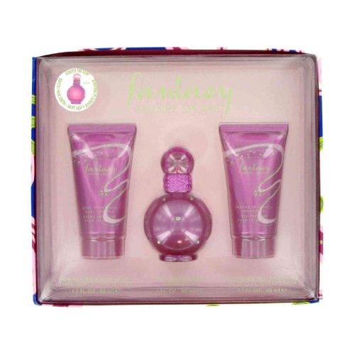 Fantasy By Britney Spears - Gift Set -- 1 Oz Eau De Parfum Spray + 1.7 Oz Body Lotion + 1.7 Oz Shower Gel for Women